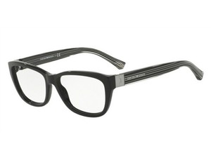 Emporio Armani EA3084-5017 Rectangle Women's Black Frame Genuine Eyeglasses