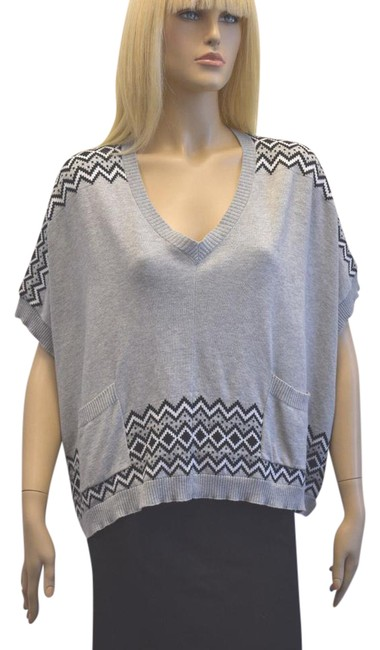 Item - Cotton Blend Size Small Gray Sweater