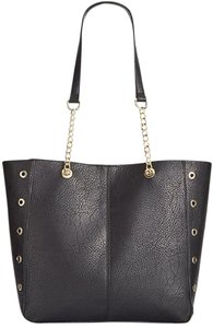 INC International Concepts Int'l Macy's Tote in black/gold