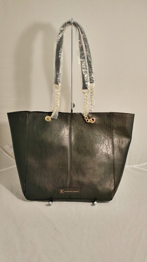 INC International Concepts Int'l Macy's Tote in black/gold Image 4