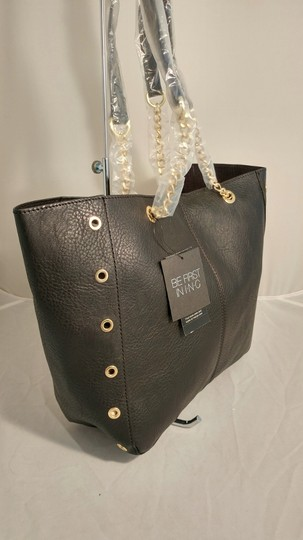 INC International Concepts Int'l Macy's Tote in black/gold Image 5