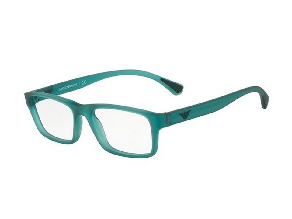 17a18d6f235 Emporio Armani EA3088-5534 Rectangle Men s Green Frame Genuine Eyeglasses  Image 0 ...