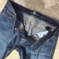 7 For All Mankind Skinny Jeans-Medium Wash Image 3