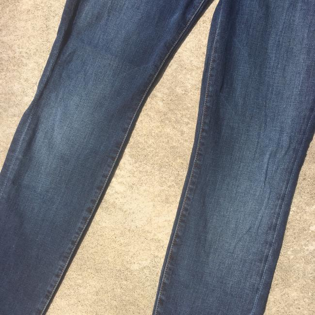 7 For All Mankind Skinny Jeans-Medium Wash Image 5