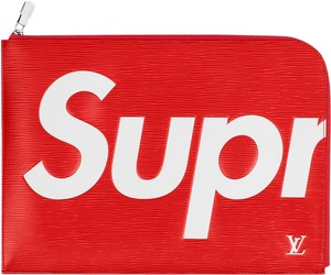Louis Vuitton x Supreme Portfolio Portfolio Monogram Laptop Bag