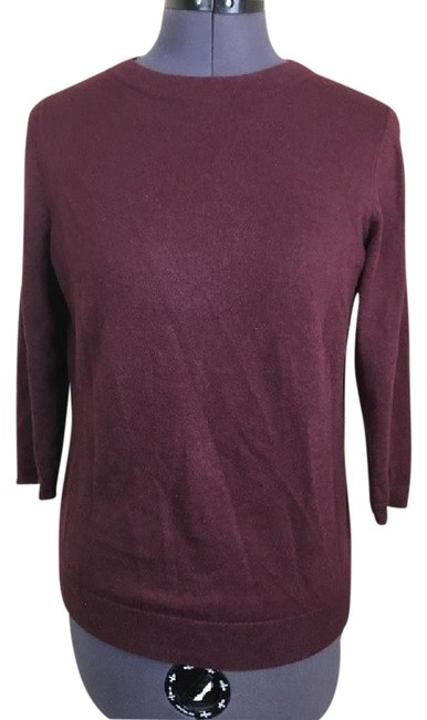 Preload https://img-static.tradesy.com/item/21951032/talbots-34-sleeve-knit-red-brown-sweater-0-1-650-650.jpg