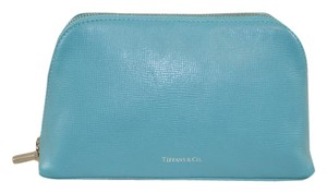 Tiffany & Co. Tiffany & Co. Turquoise Make Up Pouch