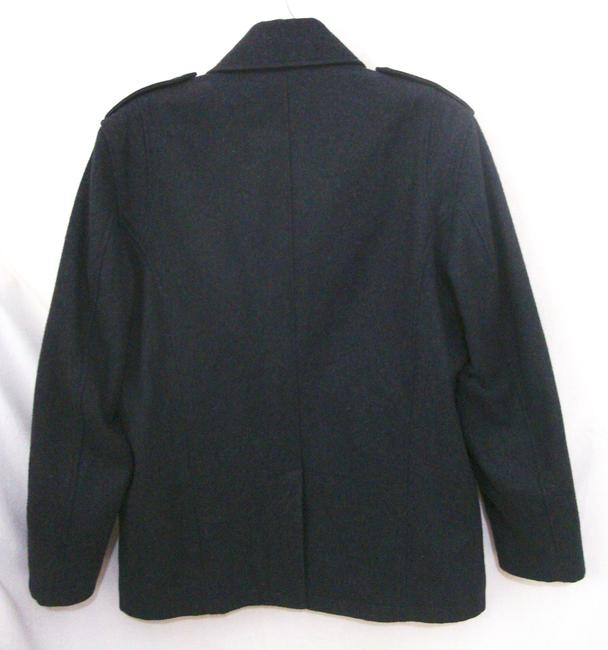 Michael Kors Button Wool Quilted Lining Coat Image 3