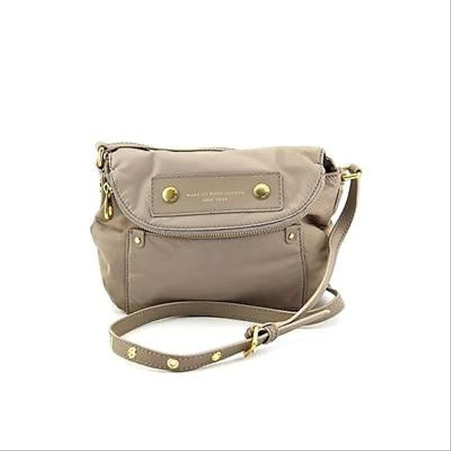Item - Mini Preppy Natasha Beige Nylon Cross Body Bag