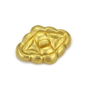 Ilias Lalaounis Ilias Lalaounis 18k Yellow Gold Hammered Fancy Brooch Pendant
