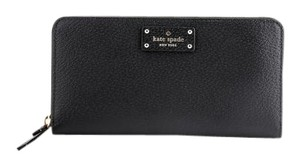 Kate Spade * Kate Spade Nede Grove Street Zip Around Wallet Black