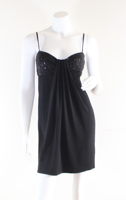 Maggy London short dress Black Petite Sequin Cocktail on Tradesy Image 1