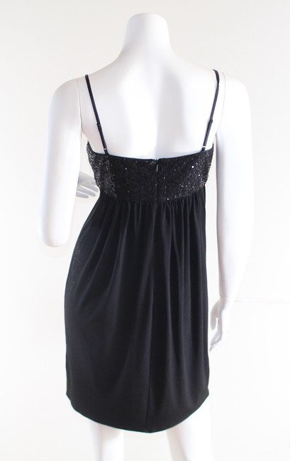 Maggy London short dress Black Petite Sequin Cocktail on Tradesy Image 4