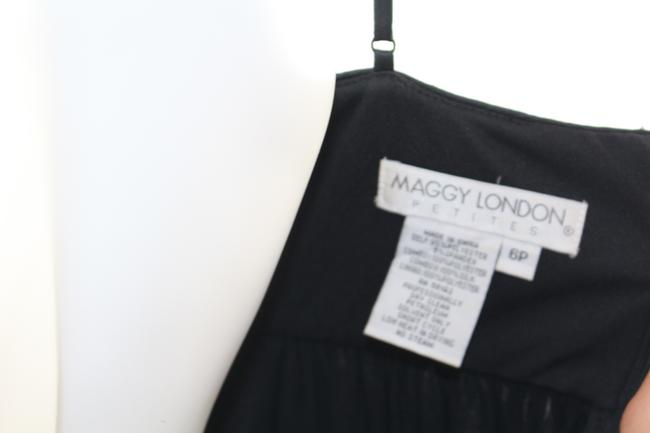 Maggy London short dress Black Petite Sequin Cocktail on Tradesy Image 5