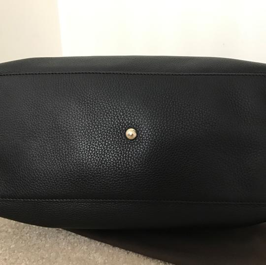 Gucci Leather Soho Satchel in Black Image 4