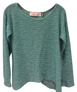 Vintage Havana Draped T Shirt Green