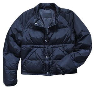 Prada Nylon Bomber Winter Black Jacket
