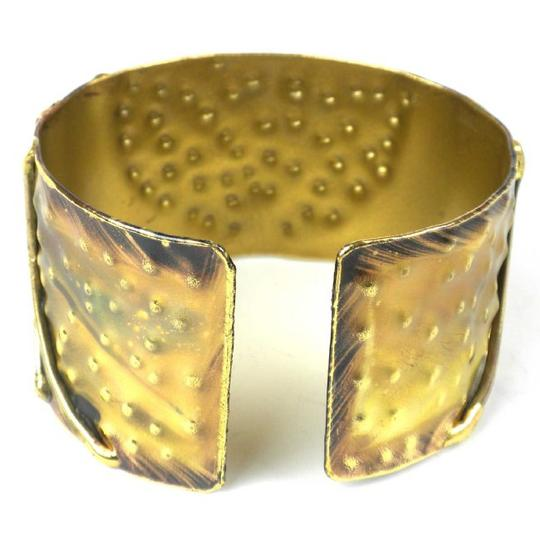 Brass Images Arches Brass Cuff Image 1
