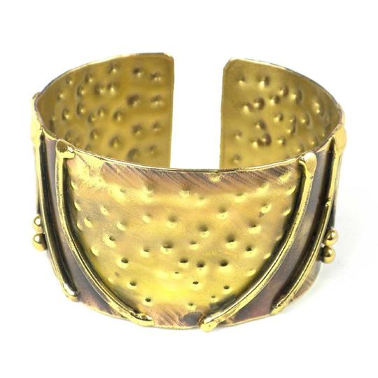Brass Images Arches Brass Cuff Image 2