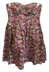 Ellemenno short dress Floral, multi on Tradesy