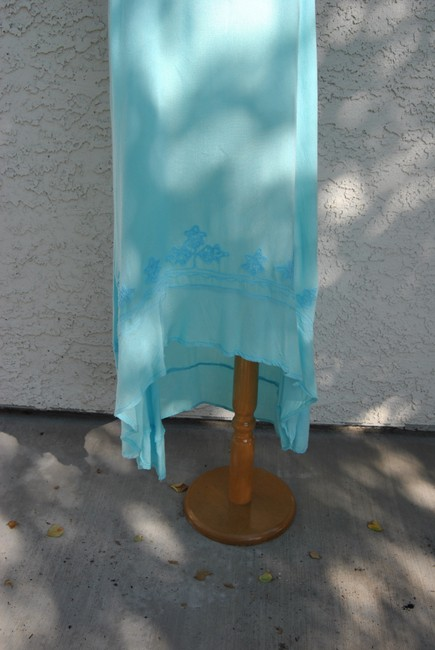 light blue Maxi Dress by ocean breeze Image 4