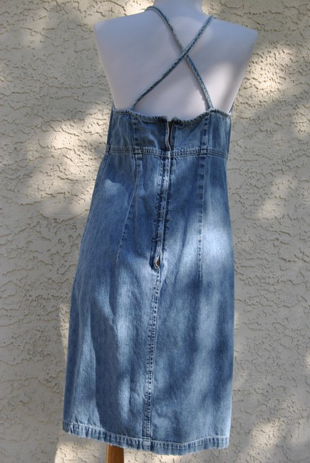 American Eagle Outfitters short dress denim on Tradesy Image 1