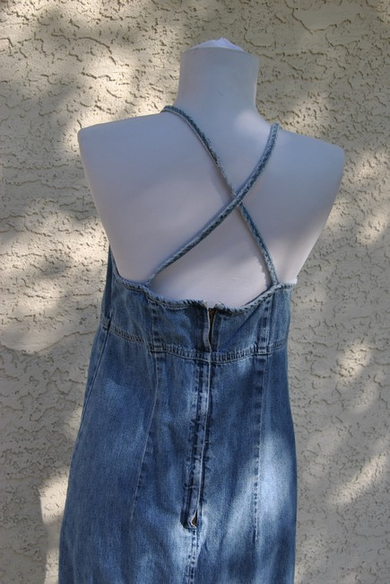 American Eagle Outfitters short dress denim on Tradesy Image 2
