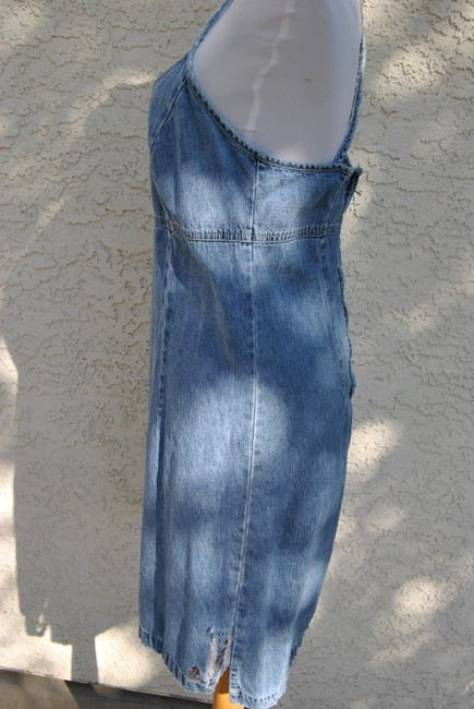 American Eagle Outfitters short dress denim on Tradesy Image 3