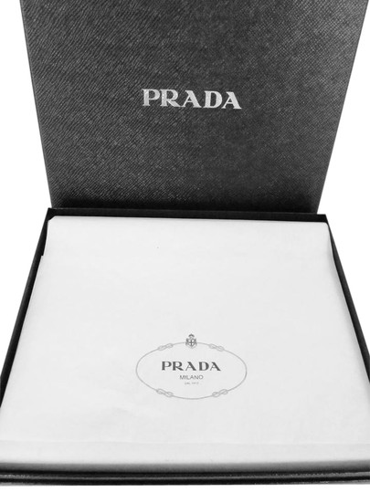 Prada NEW! iPad Case Tablet Sleeve Saffiano Leather Blue Made in Italy Image 2