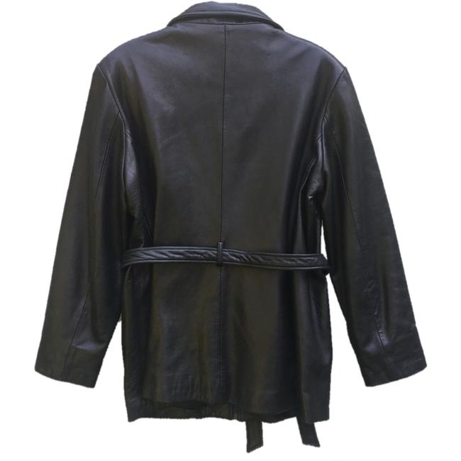 Marc New York Brown Leather Jacket Image 3