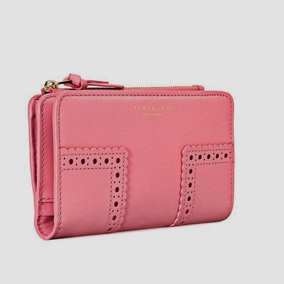 1ae5ff0974d8 Tory Burch Cosmo Block-T T New Brogue Smartphone Wallet - Tradesy