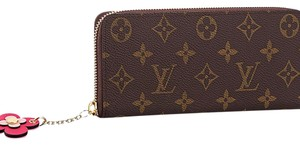 Louis Vuitton limited edition clemence with flower charm