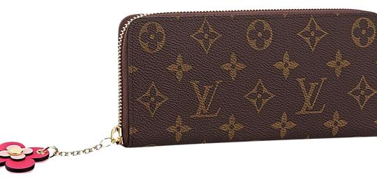 Preload https://img-static.tradesy.com/item/21953545/louis-vuitton-monogram-limited-edition-clemence-with-flower-charm-wallet-0-5-540-540.jpg