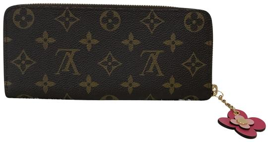 Louis Vuitton limited edition clemence with flower charm Image 1