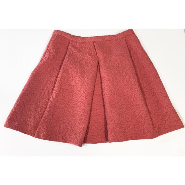 Zara Mini Skirt Terracotta Image 1