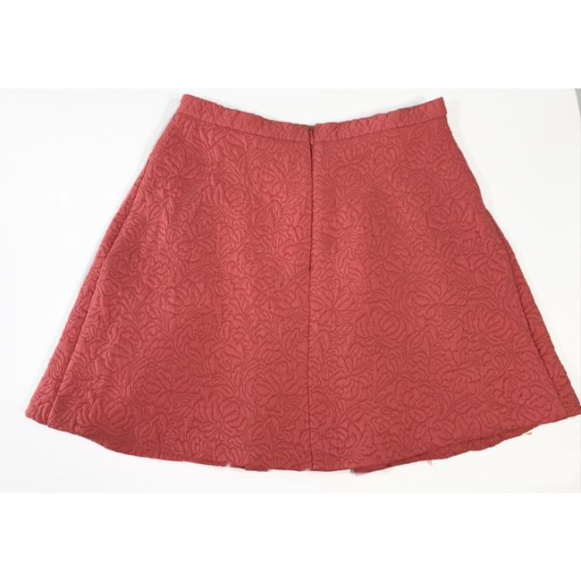 Zara Mini Skirt Terracotta Image 5