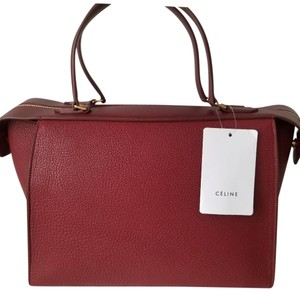 Céline Tote in Ruby Red