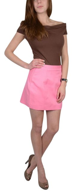 Preload https://img-static.tradesy.com/item/21953659/dsquared-pink-chain-decorated-straight-miniskirt-size-4-s-27-0-1-650-650.jpg