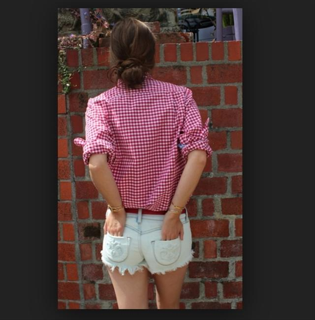 Siwy Silk Michelle Jean Levis High Waisted Cut Off Shorts Hello Prince