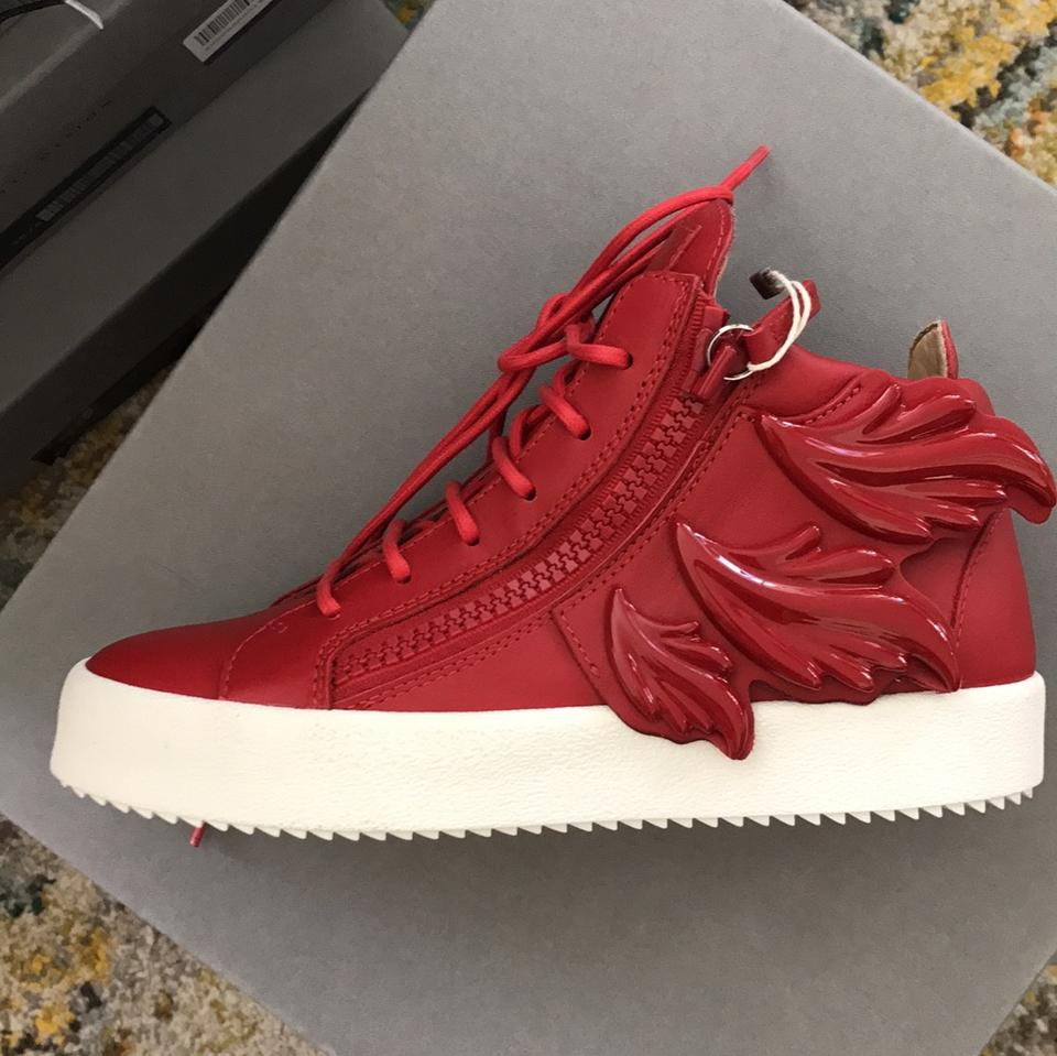 Giuseppe Zanotti Sneakers Sneakers New New Giuseppe Red Red Red New Zanotti Zanotti Giuseppe TBn7xpW