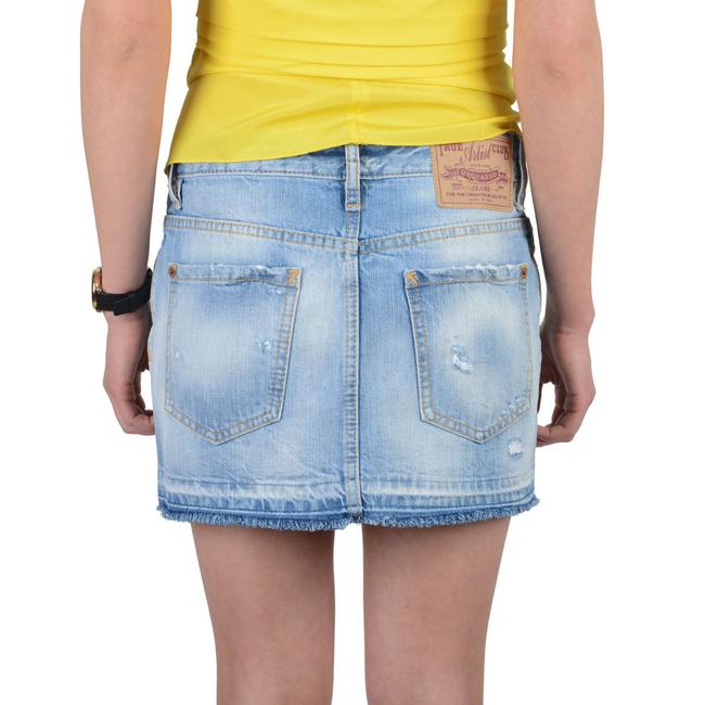 DSquared Mini Skirt Light Blue Image 2