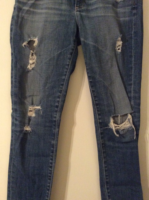 AG Adriano Goldschmied Skinny Jeans-Distressed Image 5