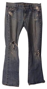 Ruehl No.925 Boot Cut Jeans-Distressed