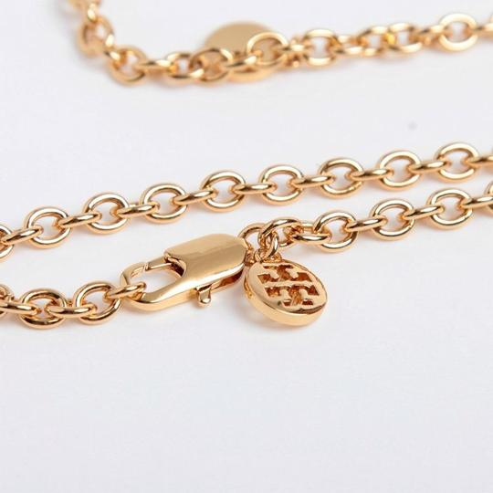 Tory Burch logo charm rosary necklace Image 2