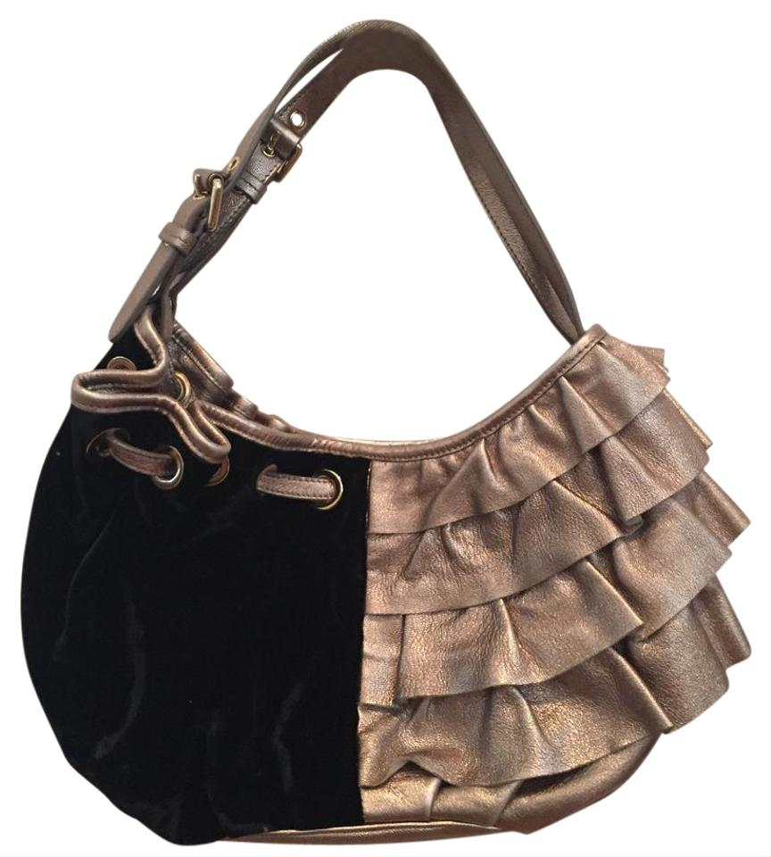 Moschino limited edition platinum and handbag black silver gold jpg 864x960  Silver and gold leather handbags dfbd04776b19d