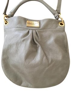 Marc by Marc Jacobs Cross Body Leather Hobo Bag