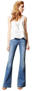 DL1961 Fitted Stretchy Flare Leg Jeans