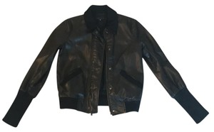Theory Sexy Moto Spring Leather Jacket