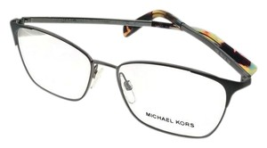 Michael Kors MK3001-1025-52 Rectangular Women's Gunmetal Frame Genuine Eyeglasses