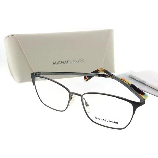 Michael Kors MK3001-1025-52 Rectangular Women's Gunmetal Frame Genuine Eyeglasses Image 1